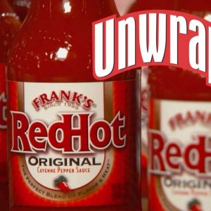 How Frank's Red Hot Sauce is Made | Unwrapped | Food Network