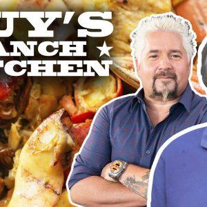 Jonathan Waxman's Seafood al Cartoccio | Guy's Ranch Kitchen with Guy Fieri | Food Network